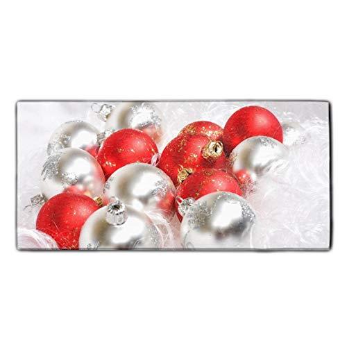 (YSKHDBC Towel-Christmas Ornaments Print Towel,Fast Drying and Lightweight)