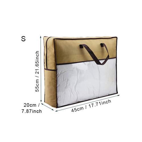 Price comparison product image Autumn Water Home Foldable Storage Bag Clothes Underwear Organizer Wardrobe Closet Quilt Blanket Pillow Case Whole Accessories
