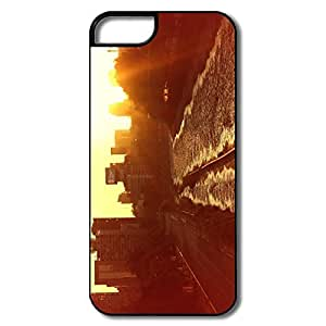 IPhone 5/5S Covers, Santiago Sunset White/black Covers For IPhone 5