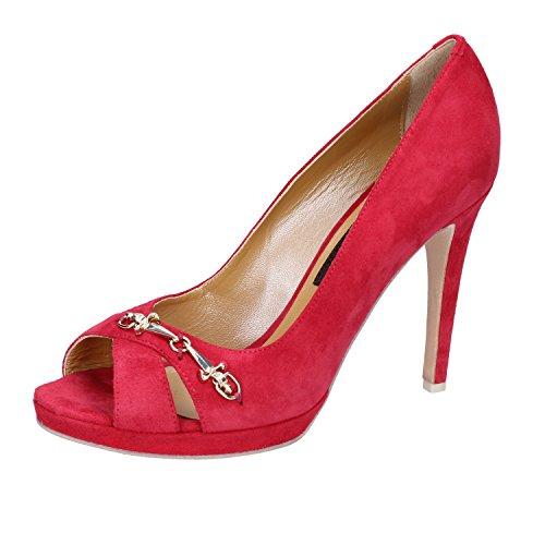 Baskets Femme decolte'camoscio Rouge AU210 4US 7wHrTYvqx7