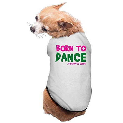 Dance Costumes Gold Coast (Costumes Dog Sweaters Born To Dance Dog HoodieSoft And Warm)