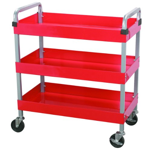 Maxworks 40105 Three-Tray Service Cart, 30-Inch Long by 1...