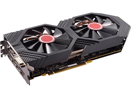 XFX GTS Black Core Edition Radeon RX 580 DirectX 12 RX-580P828D6 8GB OC+ 1405 MHz PCI Express 3.0 by XFX