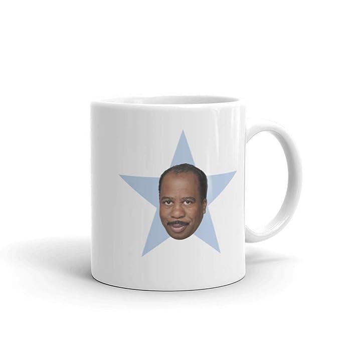 The Office Stanley Star White Mug - 11 oz.