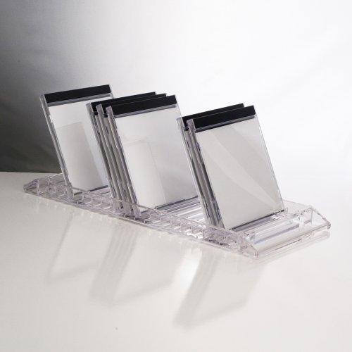 Cheap  US Acrylic Clear CD Flip Tray - holds 20 standard CD jewel..
