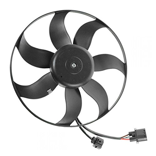 - Radiator Cooling Fan Driver Side Left LH for Audi A3 VW Beetle CC Eos Golf