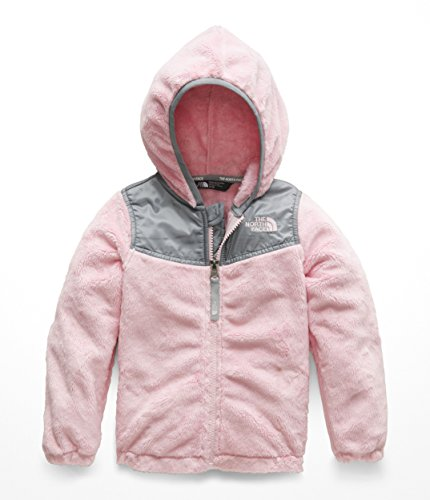 - The North Face Todd Girls OSO Hoodie - Purdy Pink - 3T