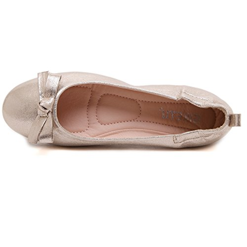 Loafer tal Lady bailarina Smilun Flat parpadeante xATFwwqC