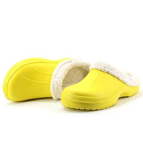 Meijili - plataforma mujer , color Amarillo, talla 39