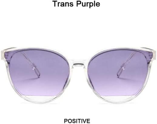 ZYJ Occhiali da Sole Vintage Cat Eye da Donna Nuovi Splendidi Occhiali da Sole per Donna Occhiali da Sole firmati Fashion Designer Cool Cool Uv400 retrò Trans Purple