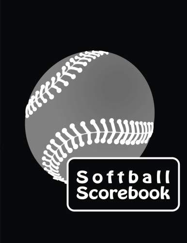 Softball Scorebook: Large Softball/ Baseball Scorebook: Side by Side Softball Scoring of 30 ()