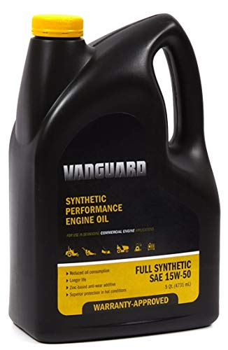Briggs & Stratton 100170 Vanguard 15W-50 Heavy Duty Synthetic Oil, 5 Quart