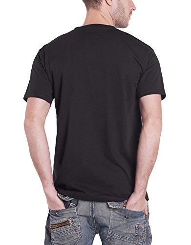 Nirvana T Shirt Bleach Band Logo Kurt Cobain Official Mens Black