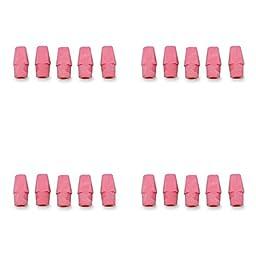 Integra Pencil Cap Eraser for Standard Pencils, 144 per Box, Pink (ITA36523), 4 Packs
