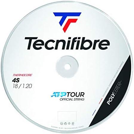 テクニファイバー(Tecnifibre) 硬式テニス ガット 4エス 200m ブラック