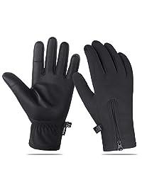 Unigear Winter Gloves, Outdoor Touch Screen Gloves for Walking, Cycling, Ridding, Running Driving for Men & Women