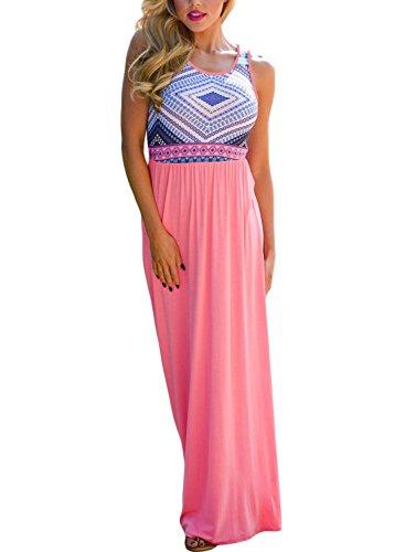 Print Cotton Maxi Dress - 7