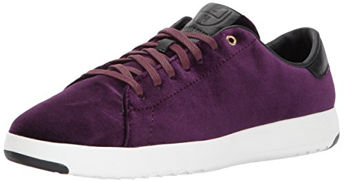 Cole Haan Women Grandpro Tennis Leather Lace OX Fashion Sneaker Malbec