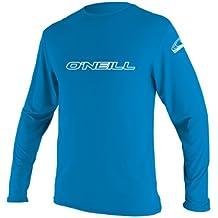 O'Neill Wetsuits UV Sun Protection Youth Basic Skins Long Sleeve Rash Tee Sun Shirt Rash Guard