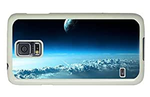 Hipster popular Samsung Galaxy S5 Cases Space Atmosphere PC White for Samsung S5