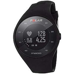 Polar M200, Reloj Running con GPS y frecuencia Cardiaca en la muñeca, Color Negro
