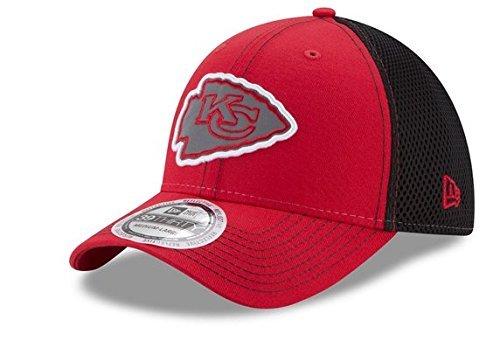 グリーンバック振幅受け入れるNFL Kansas City Chiefs大人用メンズPop Flect 39thirty Stretch Fitキャップ、レッド/ブラック