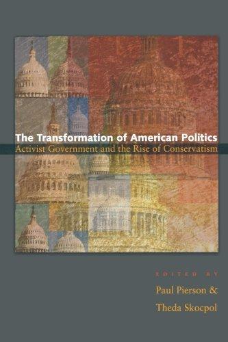 Transformation Of American Politics