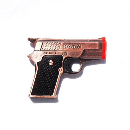 Brown Pistol Lighter Refillable Cigarette product image