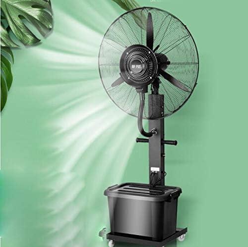 WZF Ventilador de pie silencioso, Ventilador de humidificación por ...