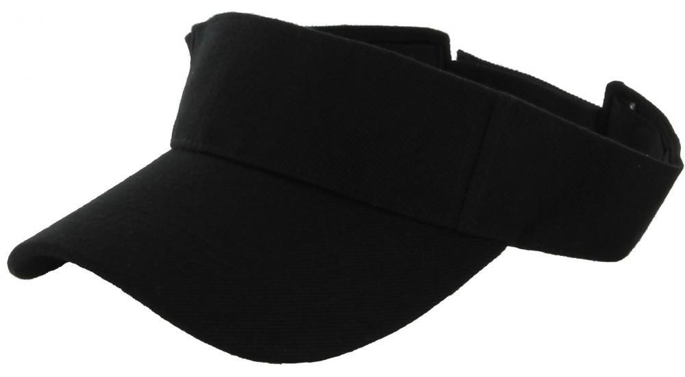 Black_(US Seller)Outdoor Sport Hat Sun Cap Adjustable Velcro