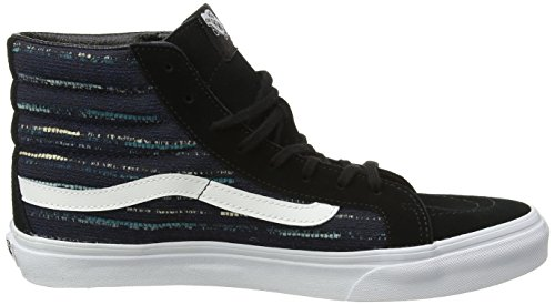 Furgoni Unisex Donne Sottili Sk8-hi Pattinare Pattino Nero / Multi
