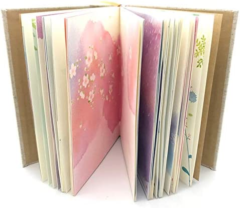 Colorful Notebook Hardcover Watercolor Bookmarks product image