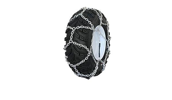 Grizzlar GTN-623 Garden Tractor//Snowblower Net//Diamond Style Alloy Tire Chains 5.00-12