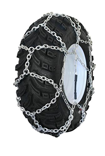 Grizzlar GTN-611 Garden Tractor / Snowblower Net / Diamond Style Alloy Tire Chains 24x8.50-12 by Grizzlar