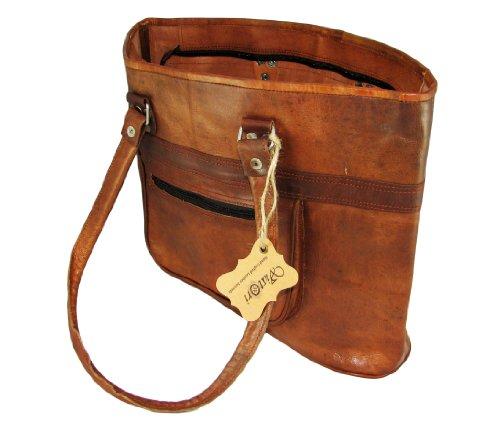 Natural Leather Shoulder Bag for Women - Di Moda Design By
