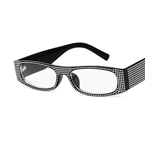 de Hunpta para rectangulares Sol Perlas Gafas de con Remache H Delete Verano qO6qpZ