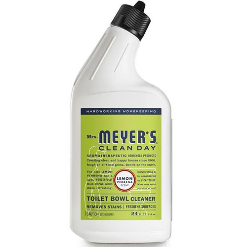 Mrs. Meyer's Toilet Bowl Cleaner Lemon Verbena, 24 OZ (Pack of 2) (Best Natural Toilet Cleaner)