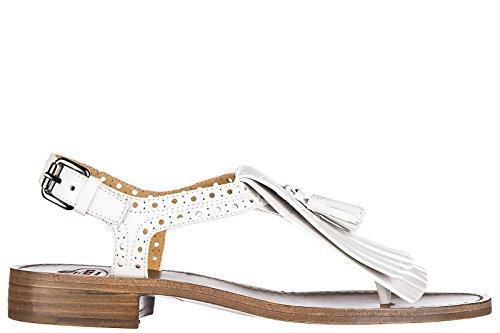 oketa mujer nuevo piel sandalias Church's blanco en xP0qRfwf