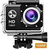 Zaptin 1080P Action Full HD Waterproof Underwater Camera