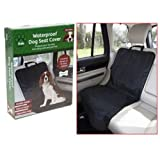 Crufts Pet Dog Waterproof Front / Back / Boot Car Single Seat Cover Protector Mat Blanket