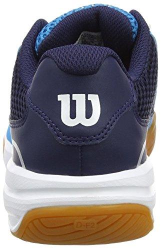 Wilson Storm Hawaiian Oforwardslashny/Wh 8.5, Scarpe da Tennis Unisex-Adulto, Blu (Hawaiian Ocean/Navy/White), 42 2/3 EU