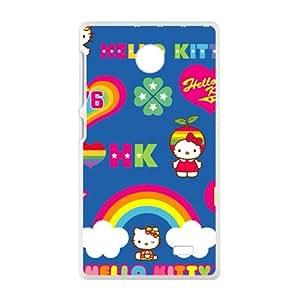 SANYISAN Hello kitty Phone Case for Nokia Lumia X case