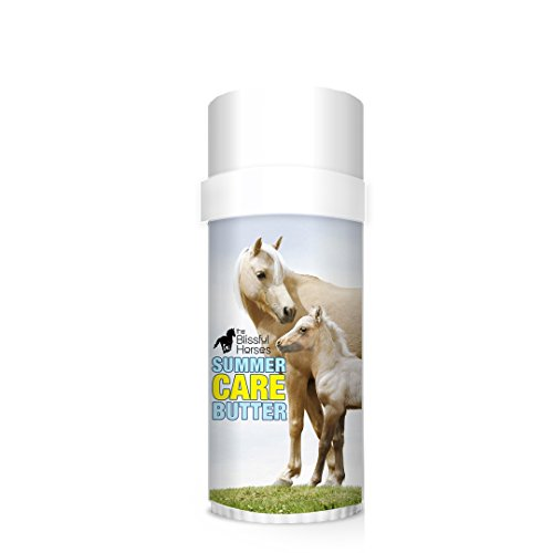 The Blissful Horses Summer Care Butter All Natural Sun Support for Your Horse by The Blissful Dog