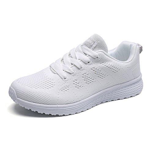 5 Nomioce Blanc Blanc Femme Compensées Sandales 36 zxqwZ68T