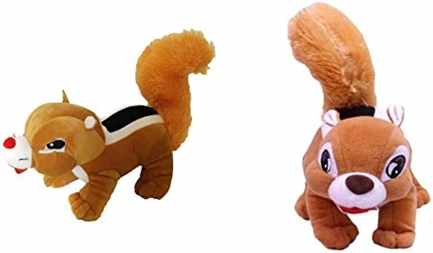 Deals India Squirrel Soft Toy (30 cm, Pack of 2)