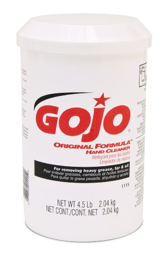 Gojo 1115-06 ORIGINAL FORMULA Hand Cleaner - 4.5-Pound Cartridge, (Pack of 6) by Gojo