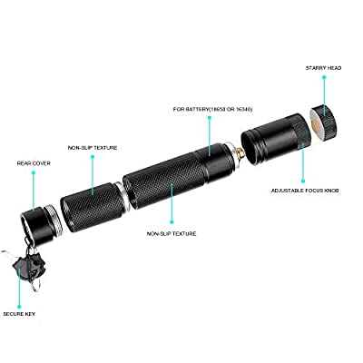 6 Patterns Hunting Rifle Scope Sight Laser Pen Green Laser Pointer High Power,Remote Laser Pointer Travel Outdoor Tactical Flashlights, LED Interactive Baton Funny Laser Pointer Toys for Cats/Dogs