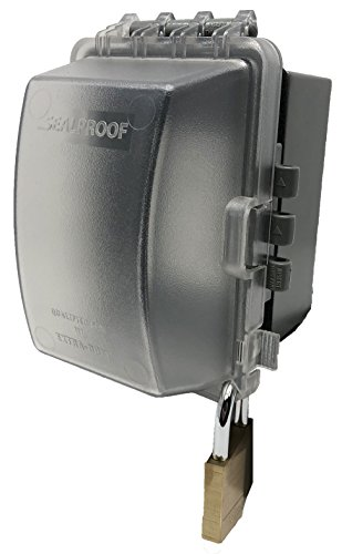 f7bdb4d719ac6e Sealproof 1-Gang Weatherproof In Use Outlet Cover