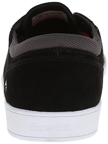 Black White Uomo The Scarpe da da Emerica Figueroa White Skateboard 04PZ8q