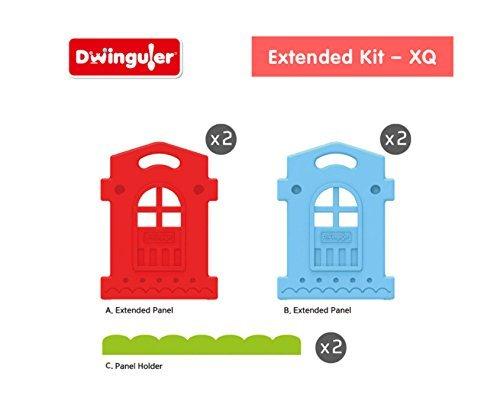 Dwinguler Large Kid's Castle Playpen x4 Extension Kit by Dwinguler.